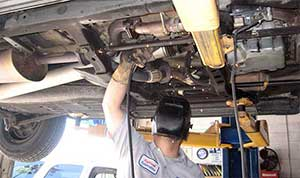 exhaust muffler repair