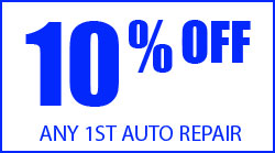 10% off any first repair
